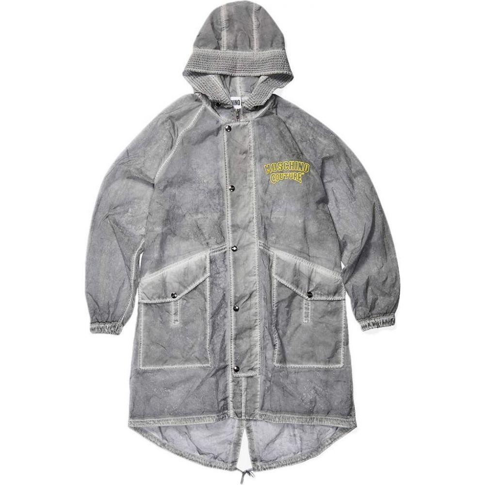 モスキーノ Moschino メンズ ジャケット ミリタリージャケット アウター【Super Light Military Mack Jacket】Fantasy Print Grey