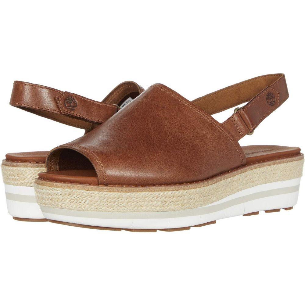 ティンバーランド Timberland レディース サンダル・ミュール シューズ・靴【Emerson Point Sandal】Medium Brown Ful Grain Leather