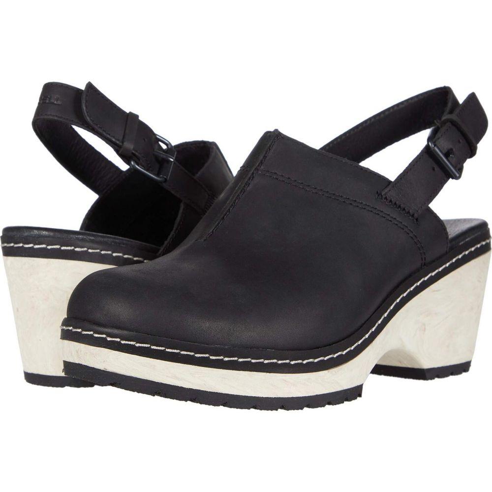 メレル Merrell レディース サンダル・ミュール バックストラップ シューズ・靴【Halendi Backstrap】Black