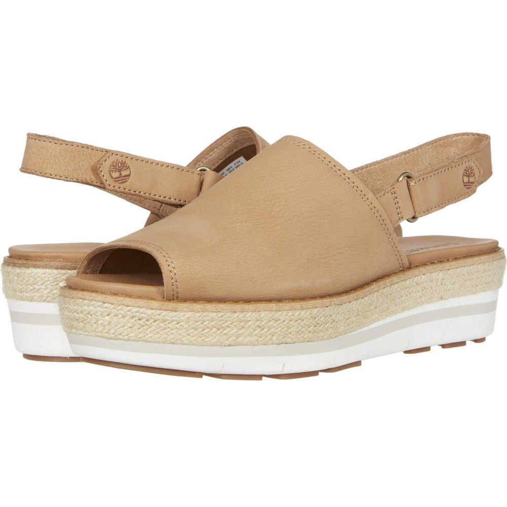 ティンバーランド Timberland レディース サンダル・ミュール シューズ・靴【Emerson Point Sandal】Light Brown Full Grain Leather