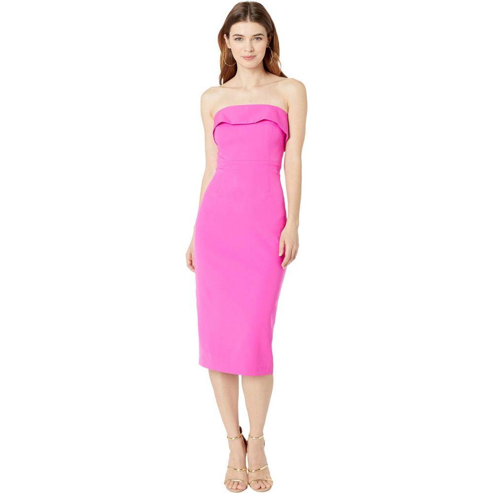 バルドー Bardot レディース ワンピース ミドル丈 ワンピース・ドレス【Zorianna Midi Dress】Pink Shock