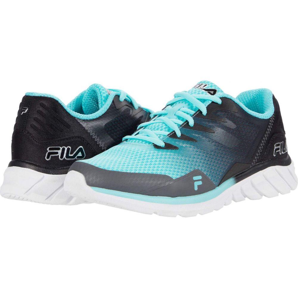 フィラ レディース ランニング ウォーキング シューズ 安売り 靴 Aruba Blue Black Countdown Memory Castlerock Fila サイズ交換無料 正規販売店 9