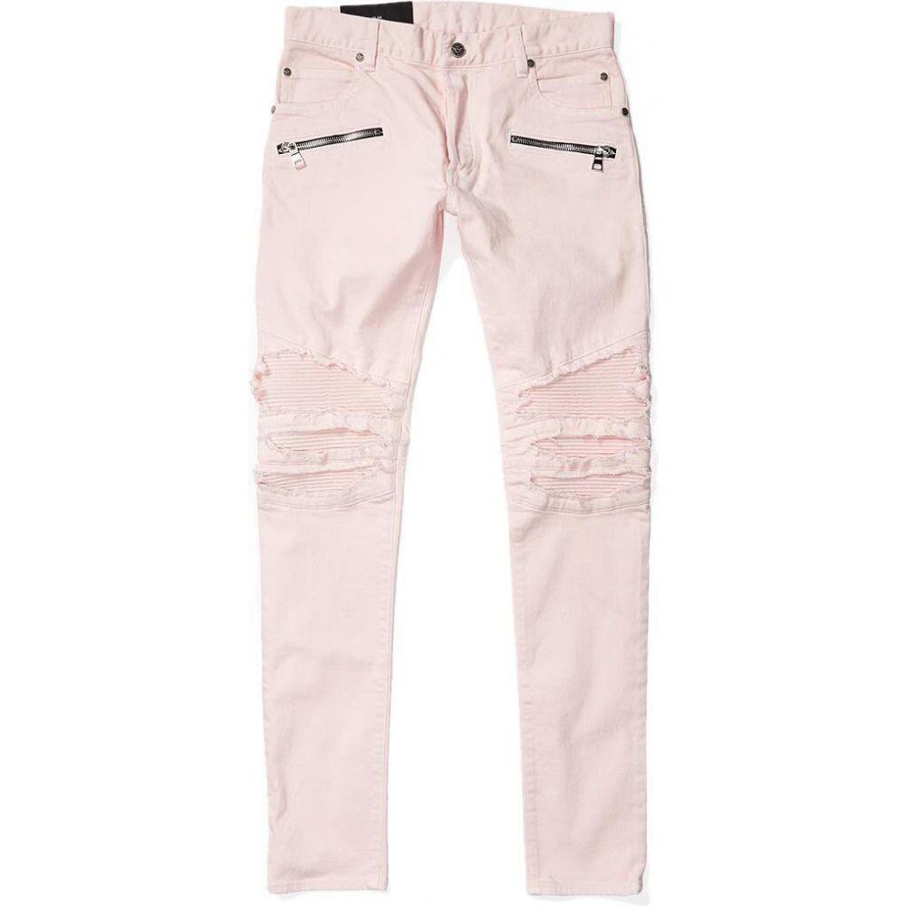 <title>バルマン 直送商品 メンズ ボトムス パンツ ジーンズ デニム Rose サイズ交換無料 Balmain Ribbed Biker Slim Jeans</title>