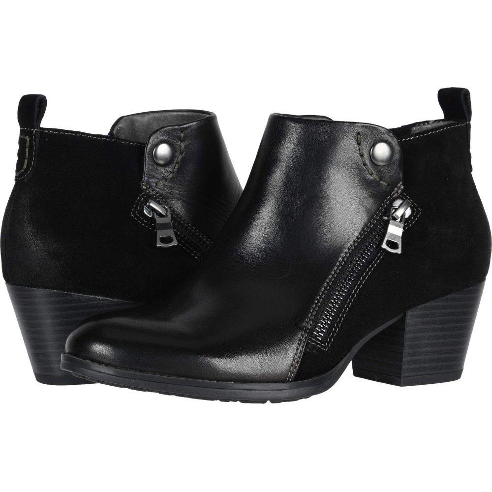 カルソーアースシューズ Earth レディース ブーツ シューズ・靴【Conway Maple】Black Eco Calf/Cow Suede Eco