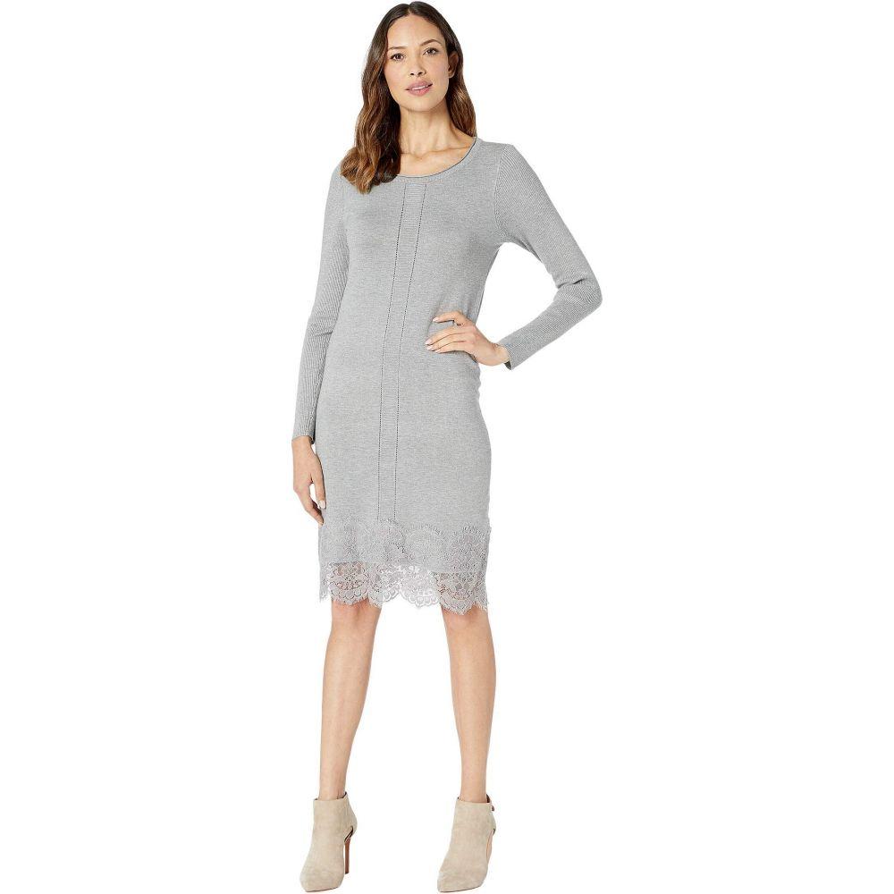 トリバル Tribal レディース ワンピース ワンピース・ドレス【Long Sleeve Scoop Neck Sweater Dress】Grey Mix
