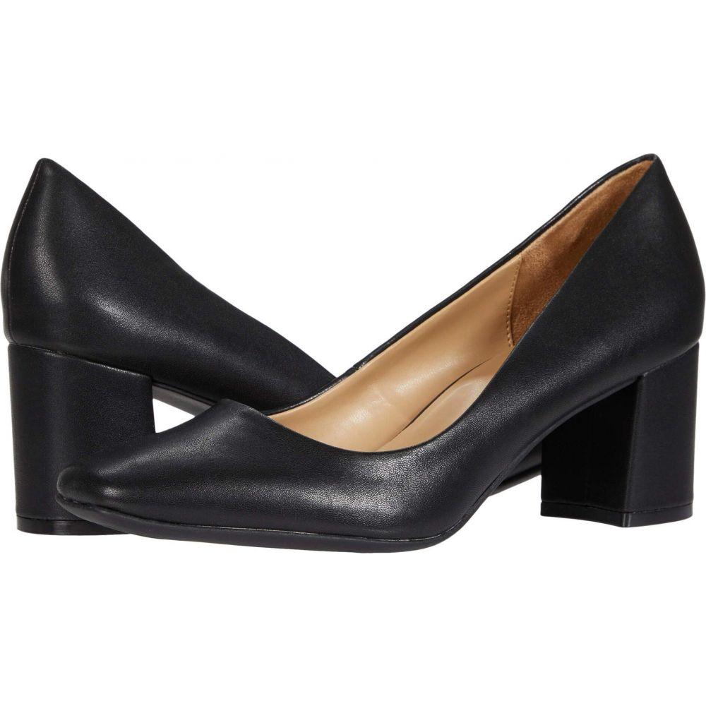ナチュラライザー 期間限定送料無料 レディース シューズ 靴 パンプス Smooth Black サイズ交換無料 販売 Naturalizer Warner