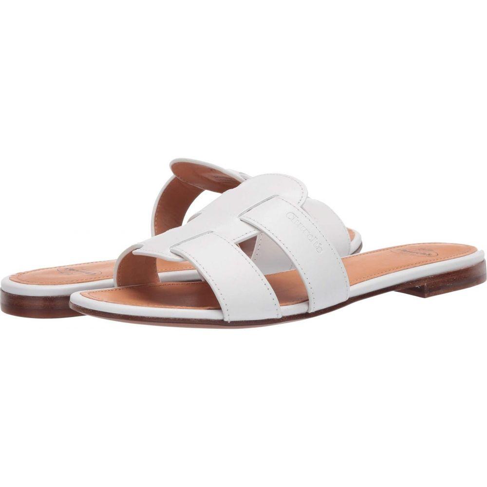 【全商品オープニング価格 特別価格】 チャーチ Church's レディース サンダル・ミュール フラット シューズ・靴【Dee Dee Flat Sandal】White, フジバンビ 1be04ba1