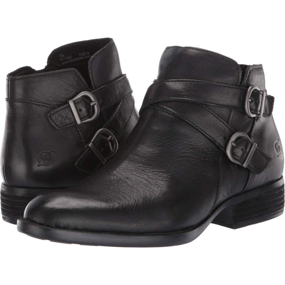 ボーン Born レディース ブーツ シューズ・靴【Ozark】Black Full Grain Leather