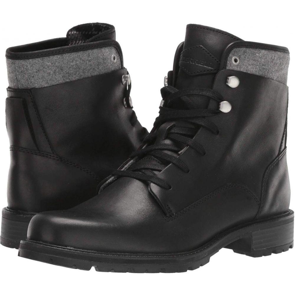 メレル Merrell レディース ブーツ シューズ・靴【Legacy Lace Waterproof】Black