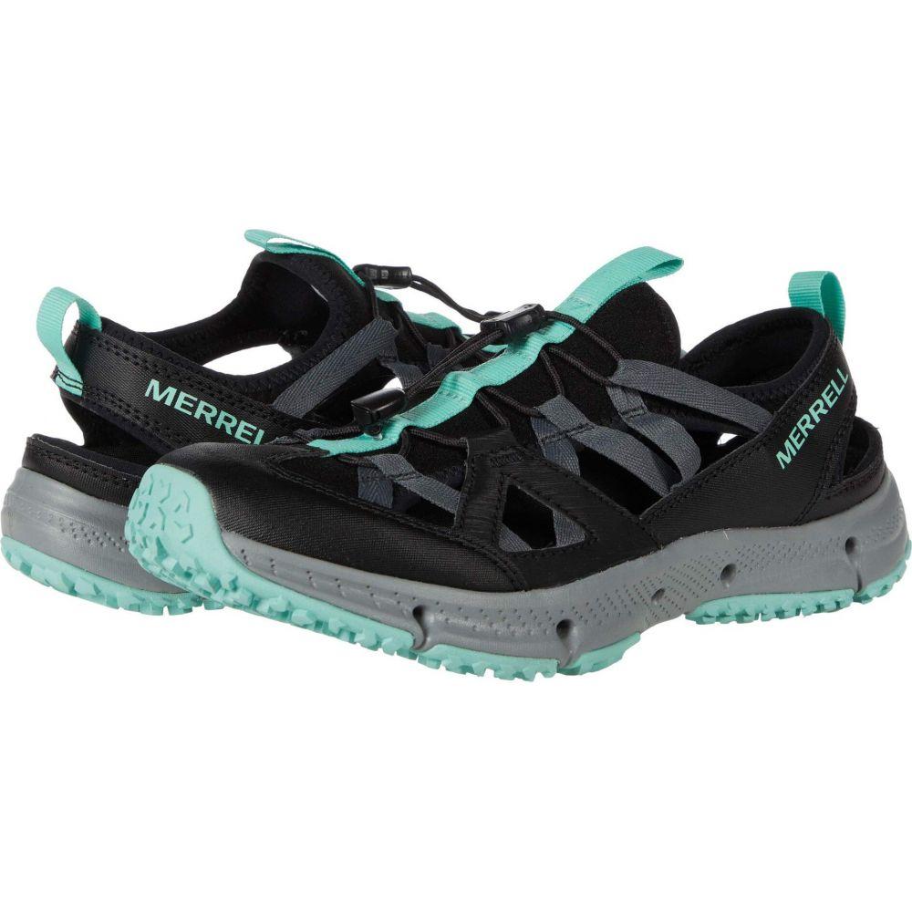 メレル Merrell レディース サンダル・ミュール シューズ・靴【Hydrotrekker Syn Shandal】Black/Mint