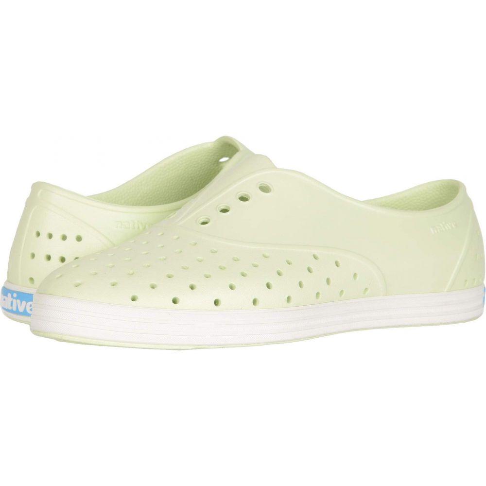 ネイティブ Green/Shell Native レディース シューズ・靴【Jericho】Cucumber Shoes シューズ White スニーカー