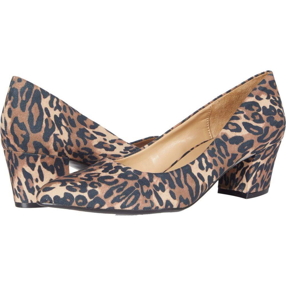 ナチュラライザー 新着セール レディース シューズ 靴 ヒール Naturalizer Carmen Cheetah 入手困難 サイズ交換無料 Brown