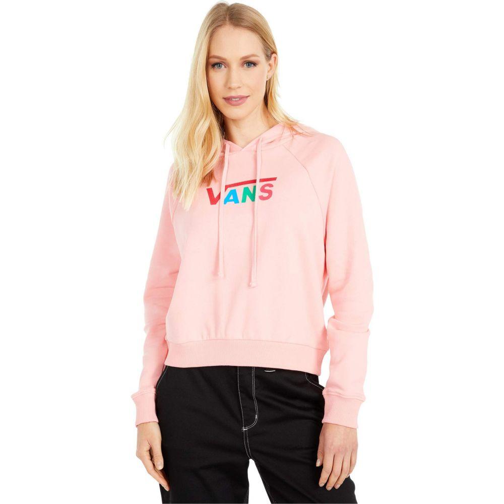 お得セット ヴァンズ Vans レディース パーカー トップス【Flying V Boxy Hoodie】Pink Icing, 激安輸入雑貨通販の店WILMART c351fc7c