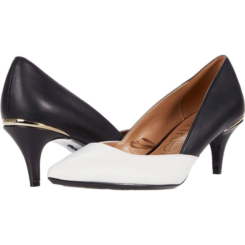 カルバンクライン レディース シューズ 靴 ヒール White 在庫あり サイズ交換無料 Calvin Black Klein 買物 Patna