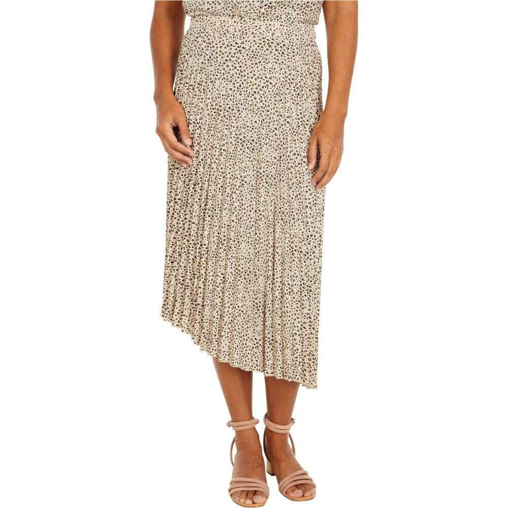 Summer Sanctuary サンクチュアリ レディース プリーツスカート【The Leopard スカート Skirt】Mini Pleated