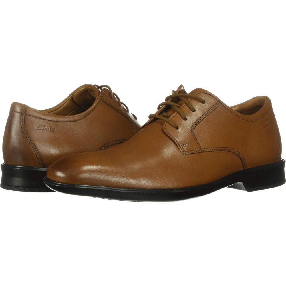 クラークス Lace】Dark メンズ 革靴・ビジネスシューズ Leather Tan Clarks シューズ・靴【Bensley