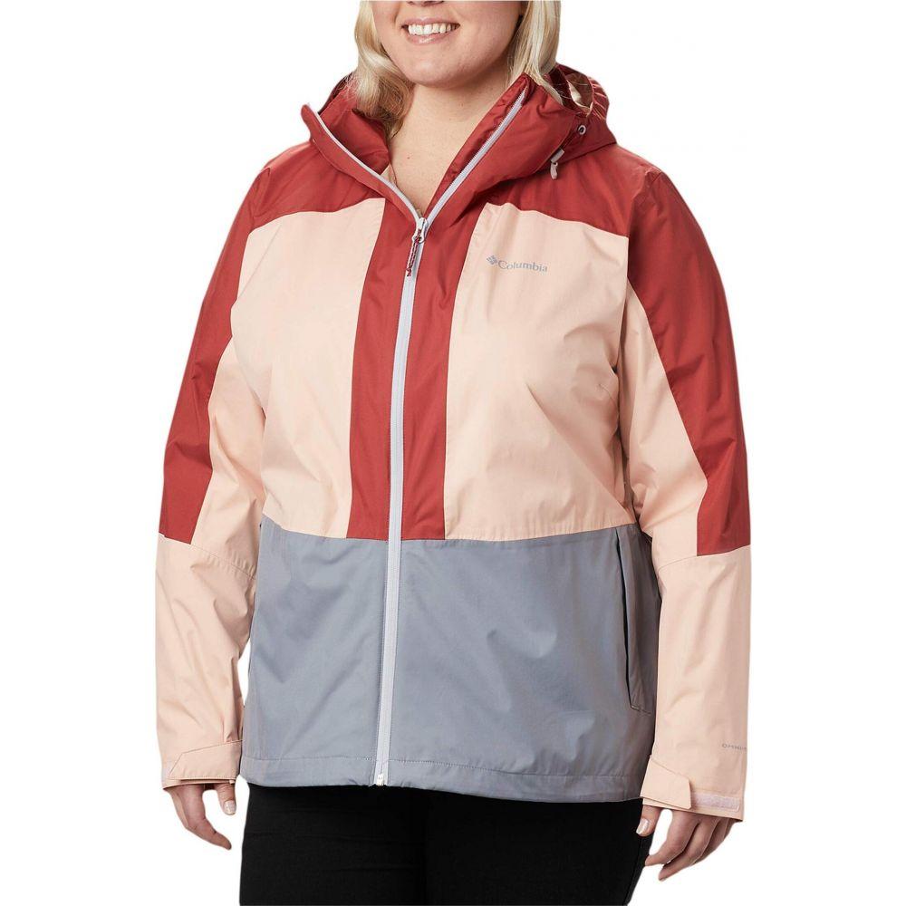 大きいサイズ Cloud/Dusty Size Jacket】Tradewinds コロンビア Crimson Columbia アウター【Plus レディース Windgates Grey/Peach ジャケット