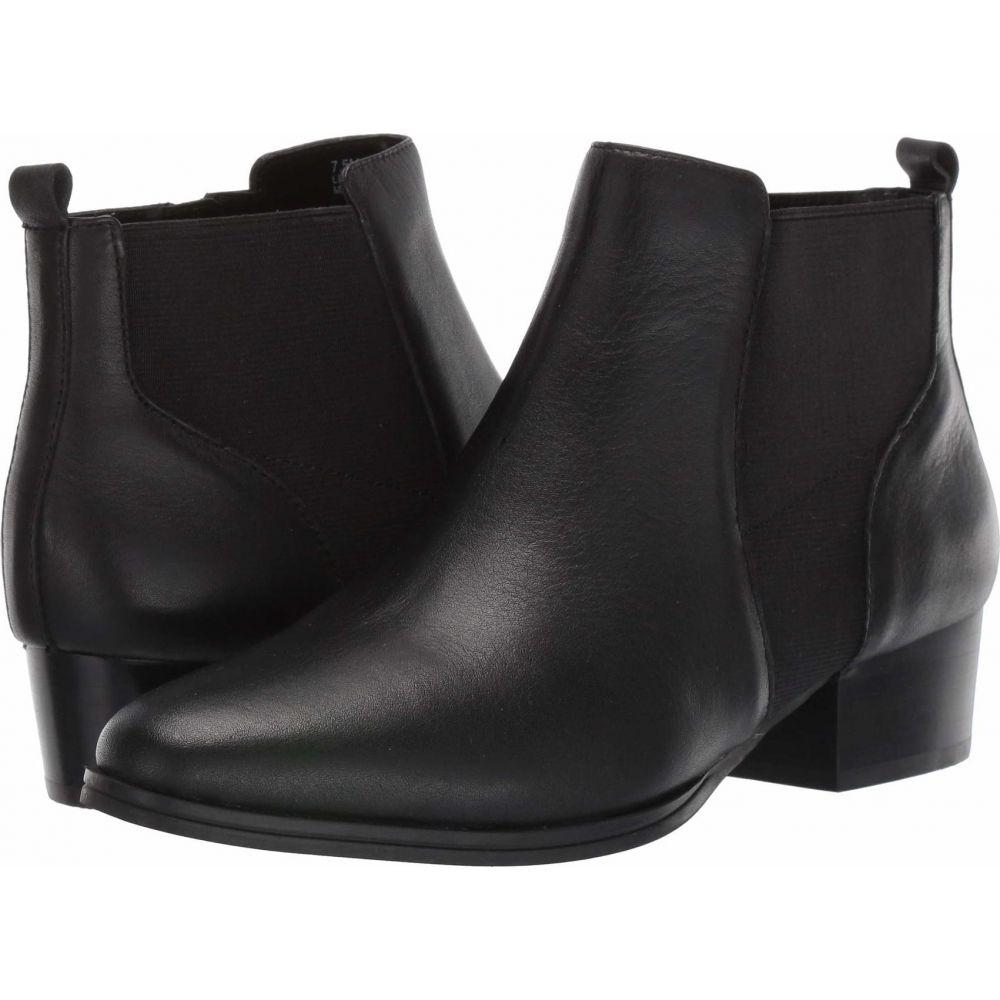 Leather Cross】Black エアロソールズ Aerosoles ブーツ レディース シューズ・靴【Criss