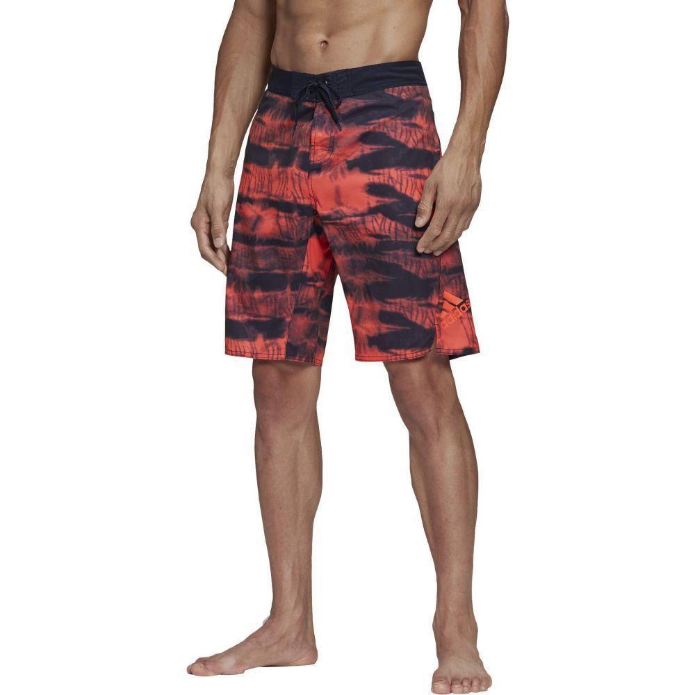 55%以上節約 アディダス adidas メンズ 海パン ショートパンツ 水着・ビーチウェア【Tech Two-Color Knee Length Shorts】Legend Ink/App Solar Red, かばん専門ショップ Water mode ddb6c698