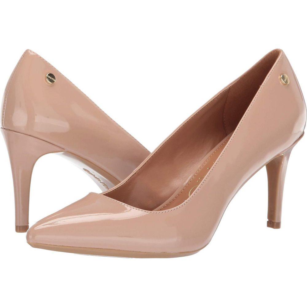 カルバンクライン レディース シューズ 蔵 靴 ヒール 正規品送料無料 Desert サイズ交換無料 Calvin Klein Nilly Sand Patent