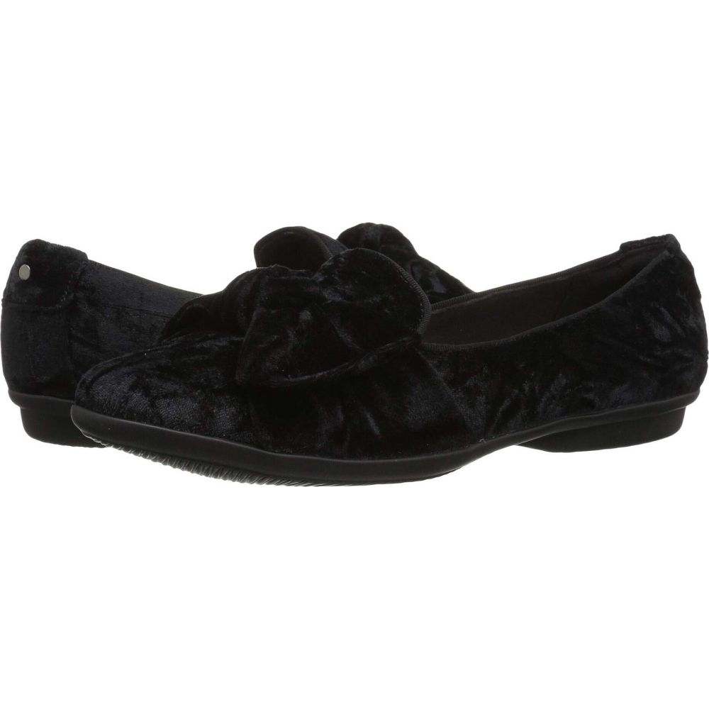 クラークス レディース シューズ 靴 販売 ローファー オックスフォード Black Gracelin サイズ交換無料 Textile Jonas Clarks 輸入 Velvet