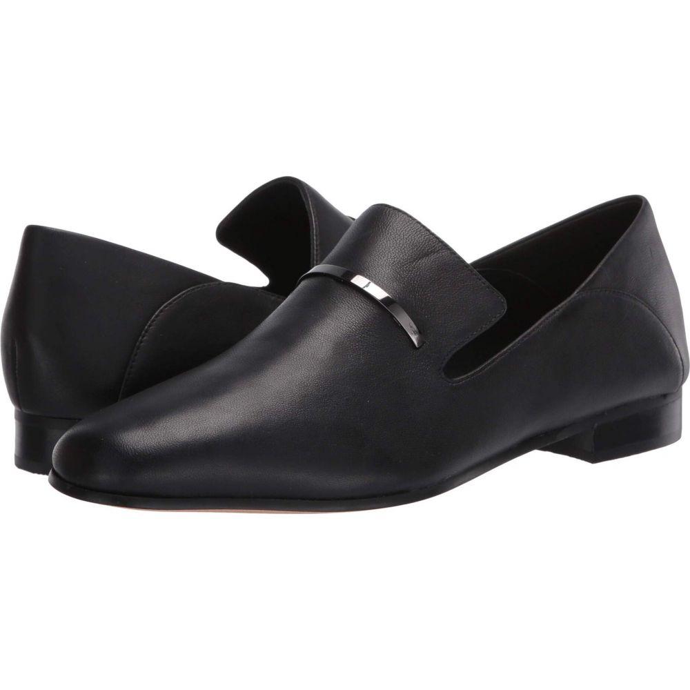 クラークス レディース 上品 シューズ 靴 ローファー オックスフォード Black Leather サイズ交換無料 休み Pure Viola Clarks Trim