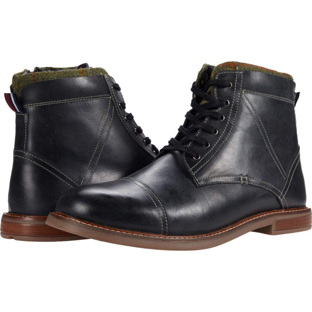 ベンシャーマン メンズ シューズ 靴 ブーツ Black 驚きの値段 Leather Luke Ben Toe お気に入 Cap Boot サイズ交換無料 Sherman