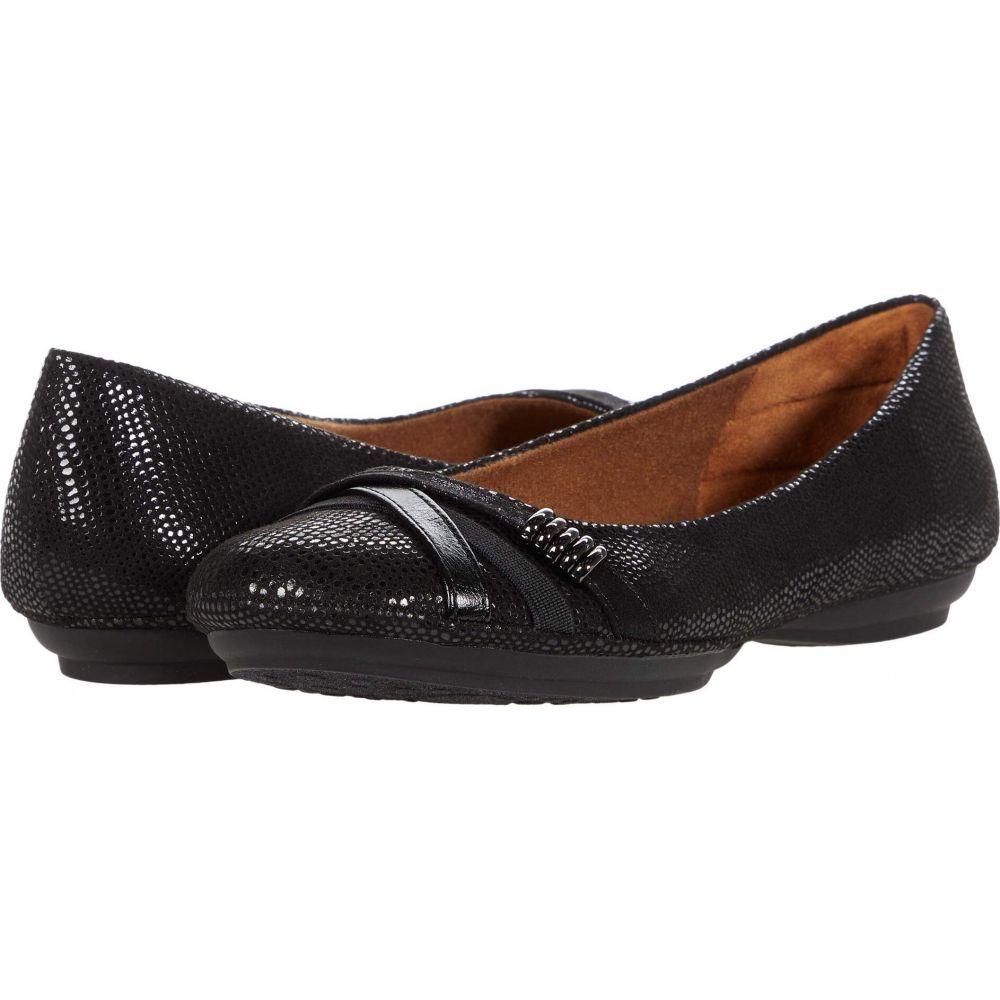 ユーロソフト 引き出物 レディース シューズ 靴 スリッポン フラット Black Shaina Lizard EuroSoft サイズ交換無料 本物