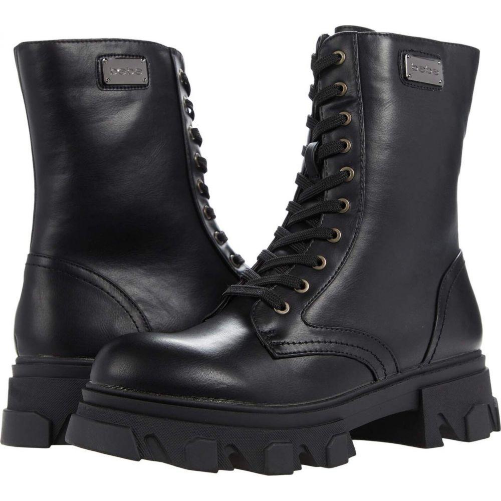 ベベ レディース シューズ 靴 バースデー 記念日 ギフト 贈物 お勧め 通販 ブーツ 購入 Black Bebe Oprah サイズ交換無料