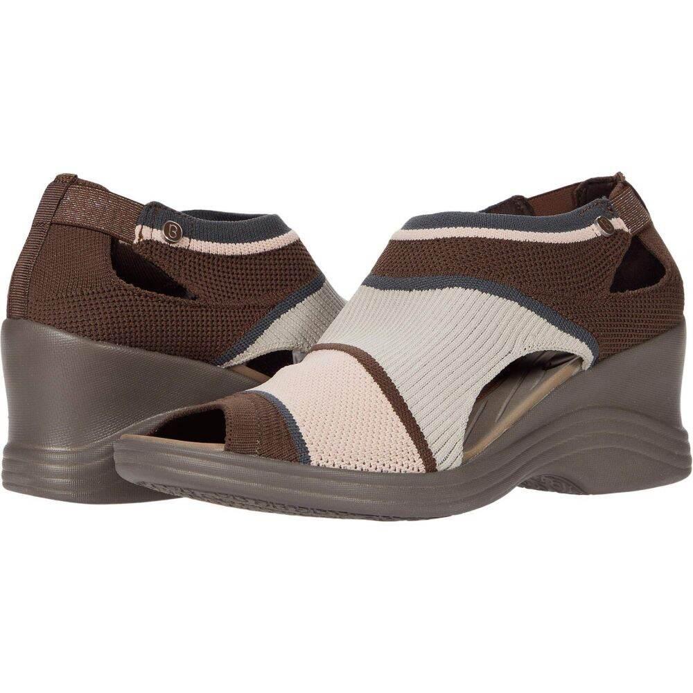 ゼィース レディース 商舗 シューズ 靴 ブーツ Bzees Chocolate 5%OFF Knit Honey サイズ交換無料
