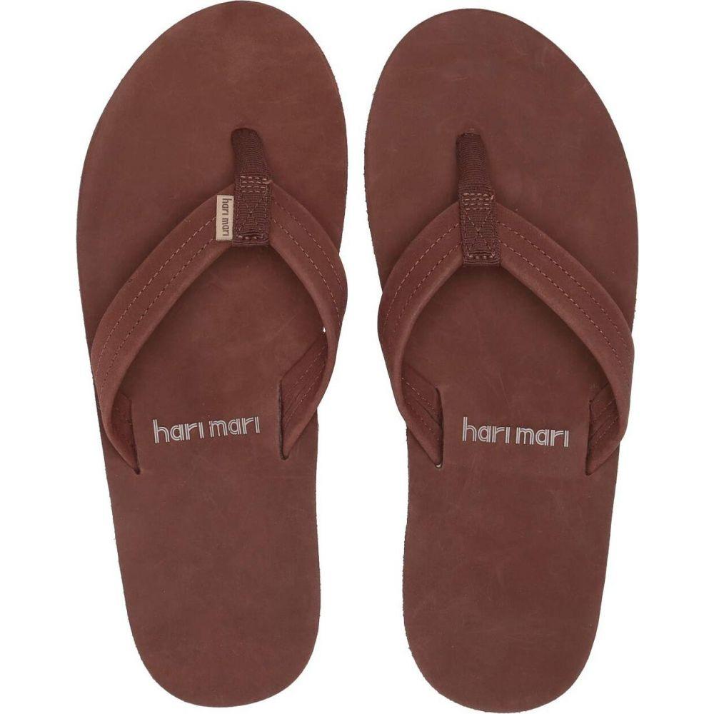 交換無料 ハリマリ メンズ シューズ 靴 ビーチサンダル Brown Gum 激安格安割引情報満載 サイズ交換無料 mari hari Fields