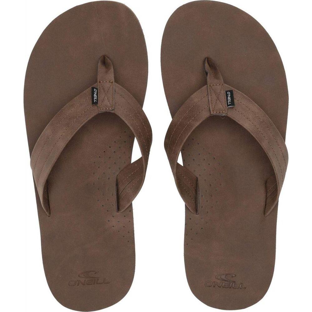 オニール メンズ シューズ 靴 ビーチサンダル サイズ交換無料 Hook 商い O'Neill The 送料無料限定セール中 Brown