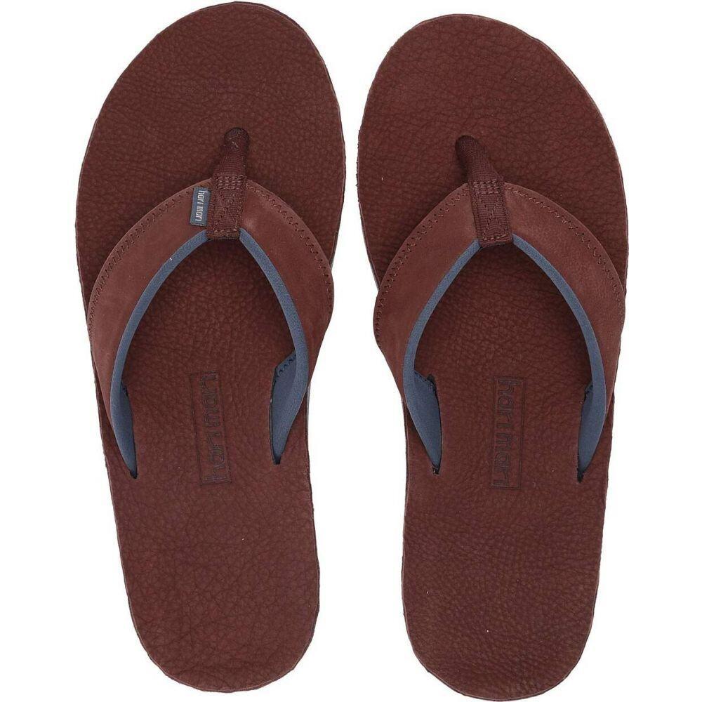 ハリマリ メンズ シューズ 靴 ビーチサンダル 価格 交渉 送料無料 hari レビューを書けば送料当店負担 mari サイズ交換無料 Brown Pier