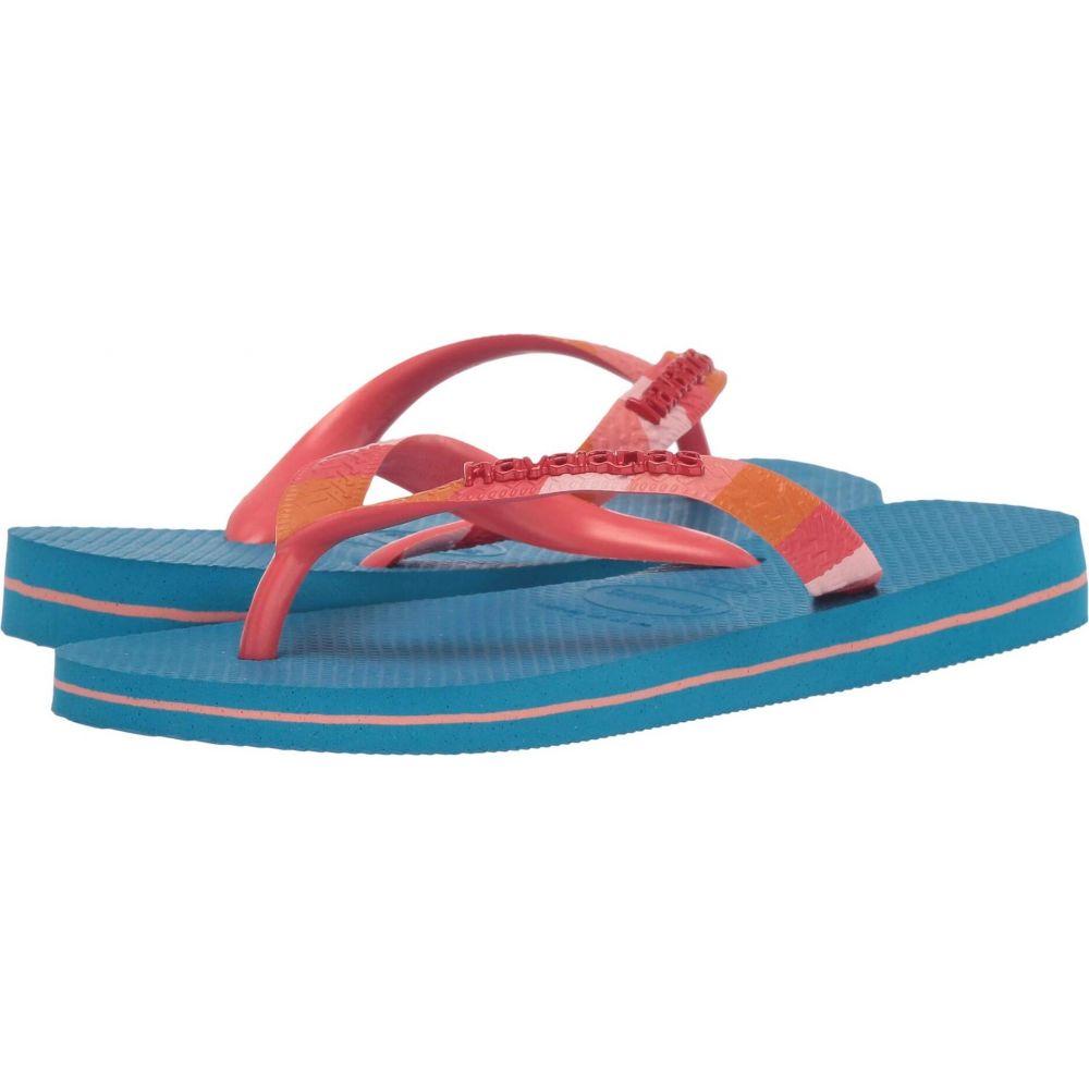 ハワイアナス 人気 おすすめ レディース シューズ 靴 ビーチサンダル Turquoise Havaianas 注文後の変更キャンセル返品 Sandal サイズ交換無料 Verano Top
