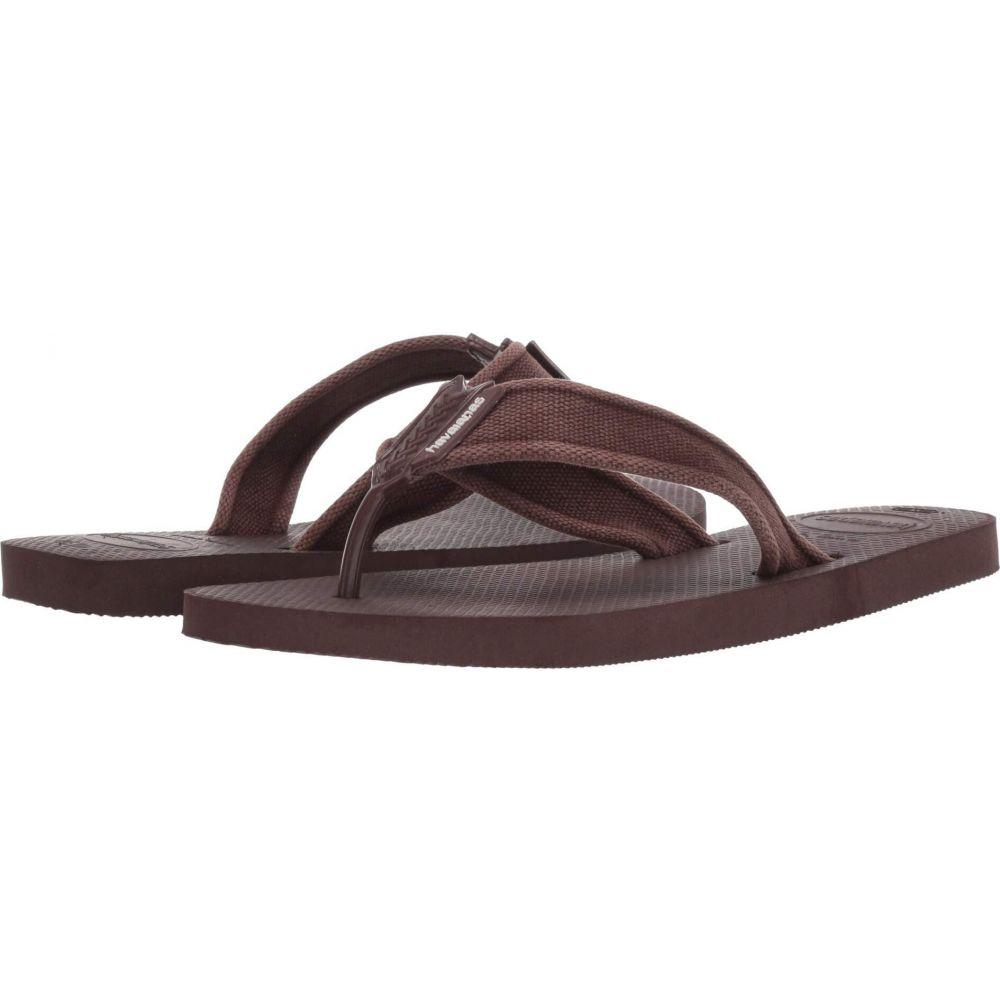 ハワイアナス メンズ シューズ 靴 ビーチサンダル 売買 Dark Brown Basic II 限定モデル Sandal Urban Havaianas サイズ交換無料