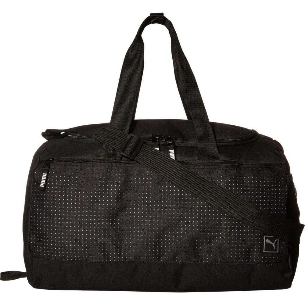 プーマ レディース バッグ ボストンバッグ ダッフルバッグ Black 上品 Silver Duffel Surface PUMA サイズ交換無料 Evercat 即納送料無料! Bag