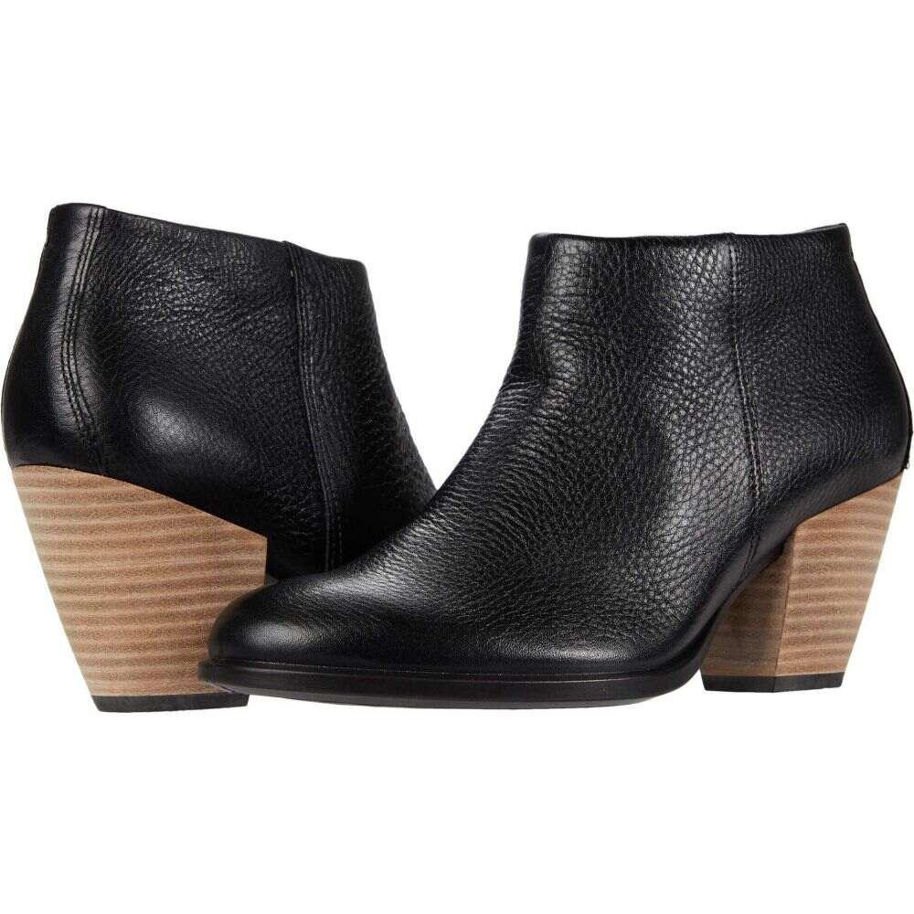 エコー レディース シューズ 靴 ブーツ Black セール サイズ交換無料 ECCO ショートブーツ 55 Shape Ankle ギフ_包装 ウエスタンブーツ Boot Western