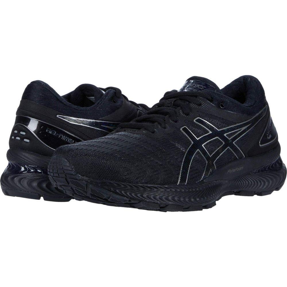 アシックス レディース ランニング ウォーキング シューズ 靴 Black ブランド買うならブランドオフ GEL-Nimbus サイズ交換無料 22 希望者のみラッピング無料 ASICS