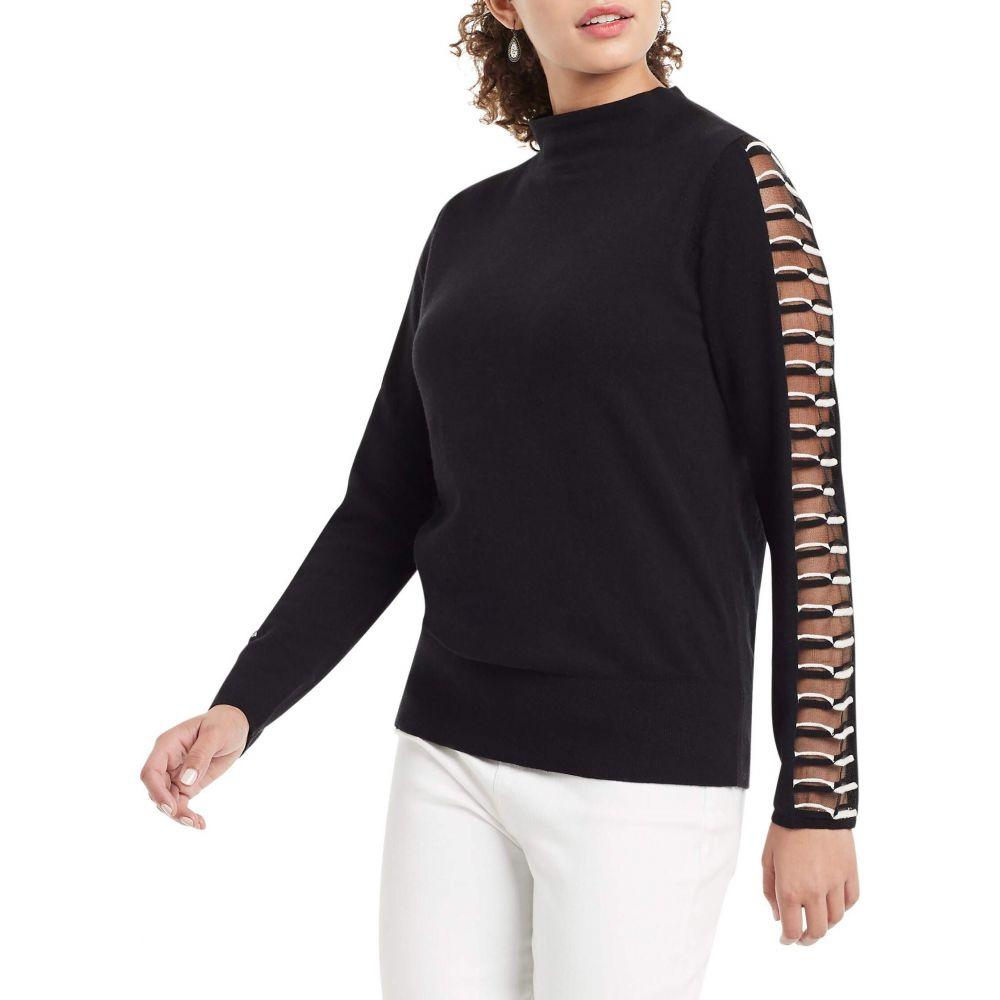 ニックゾー Onyx ニット・セーター トップス【Montreal Sweater】Black NIC+ZOE レディース