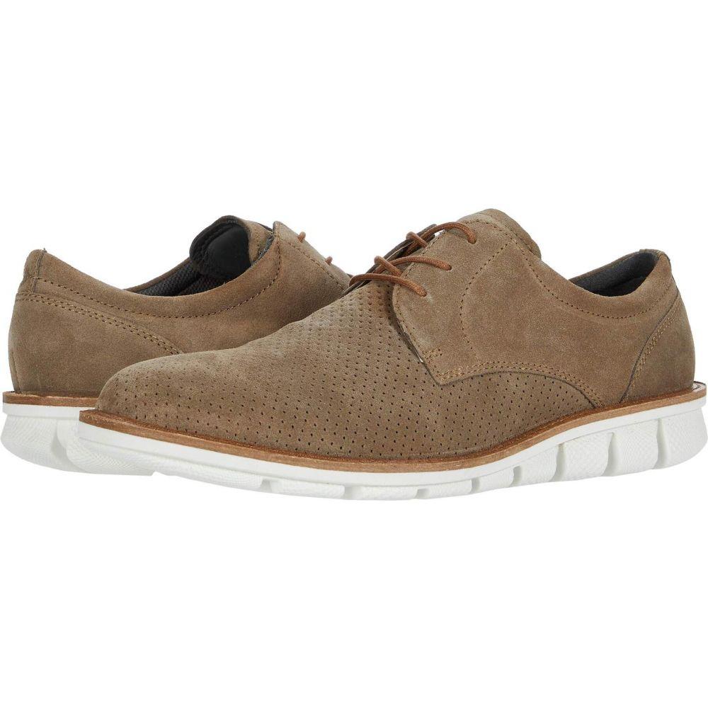 モデル着用 注目アイテム エコー メンズ シューズ 靴 革靴 ビジネスシューズ Navajo Brown ECCO Tie サイズ交換無料 Summer Jeremy Derby 2020新作 ダービーシューズ
