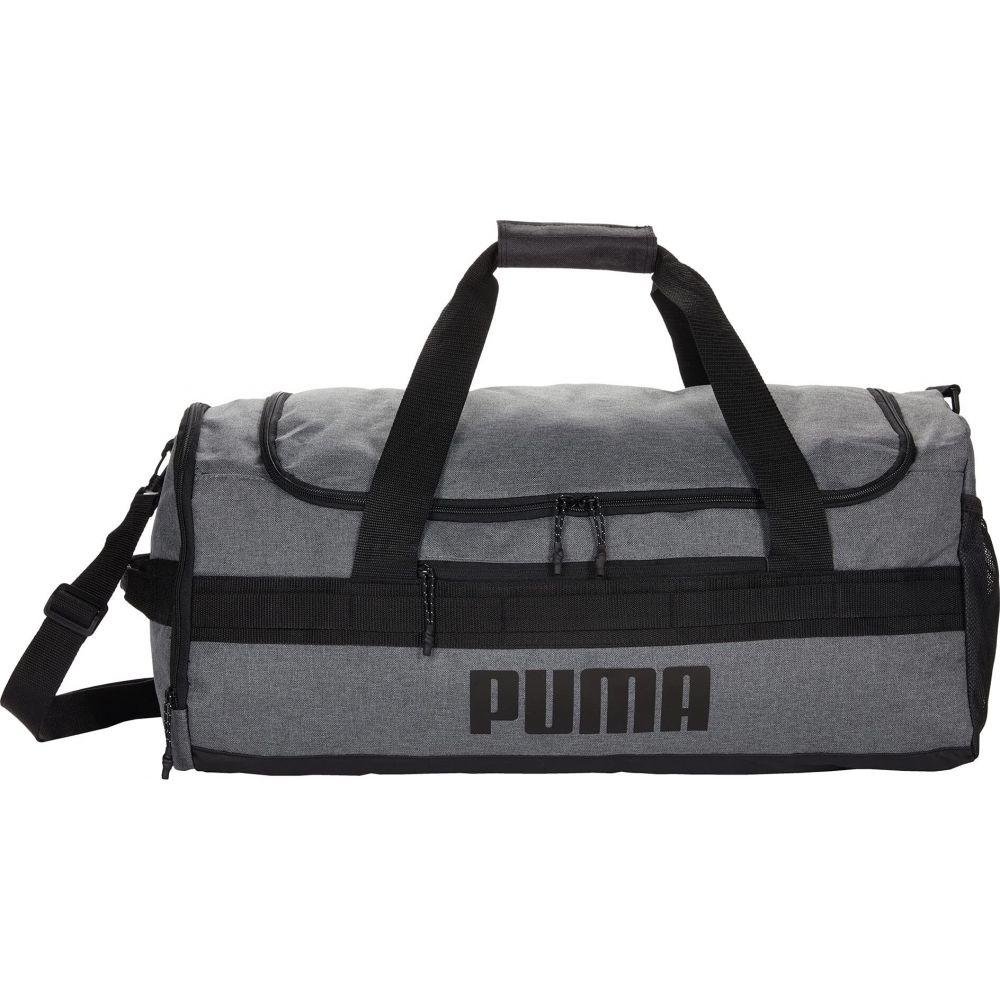 プーマ レディース 売り出し バッグ ボストンバッグ ダッフルバッグ Black サイズ交換無料 Demand Grey Duffel PUMA オンライン限定商品