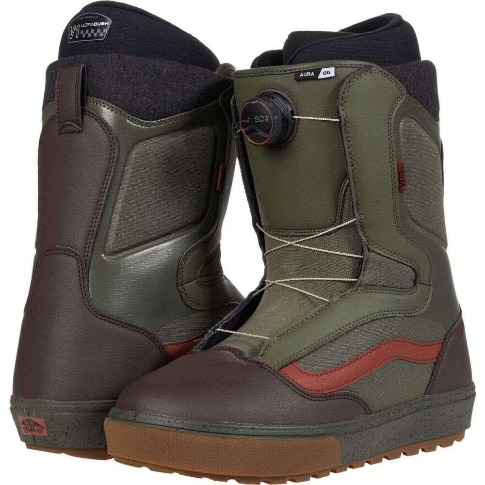 ヴァンズ メンズ スキー・スノーボード シューズ・靴 Grape Leaf/Gum 【サイズ交換無料】 ヴァンズ Vans メンズ スキー・スノーボード ブーツ シューズ・靴【Aura OG Snowboard Boots】Grape Leaf/Gum