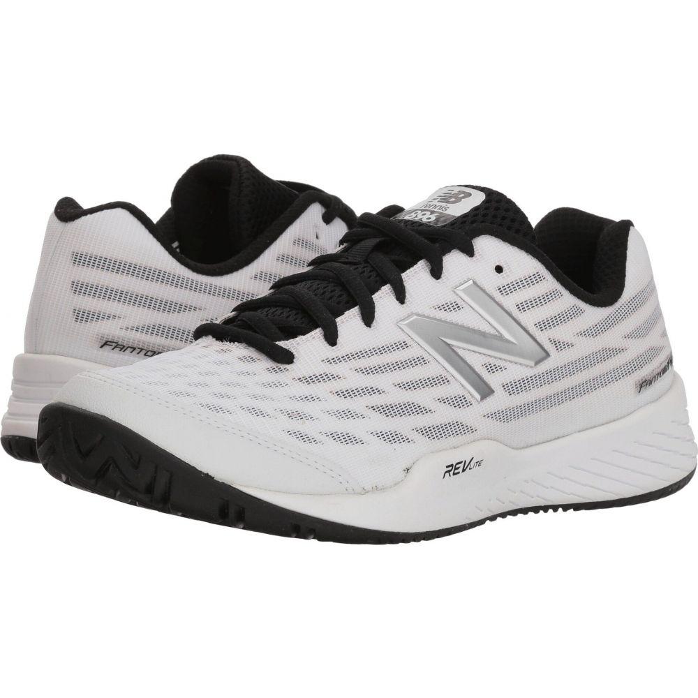 返品送料無料 ニューバランス レディース テニス シューズ 靴 White 正規認証品!新規格 サイズ交換無料 WCH896v2 New Pigment Balance