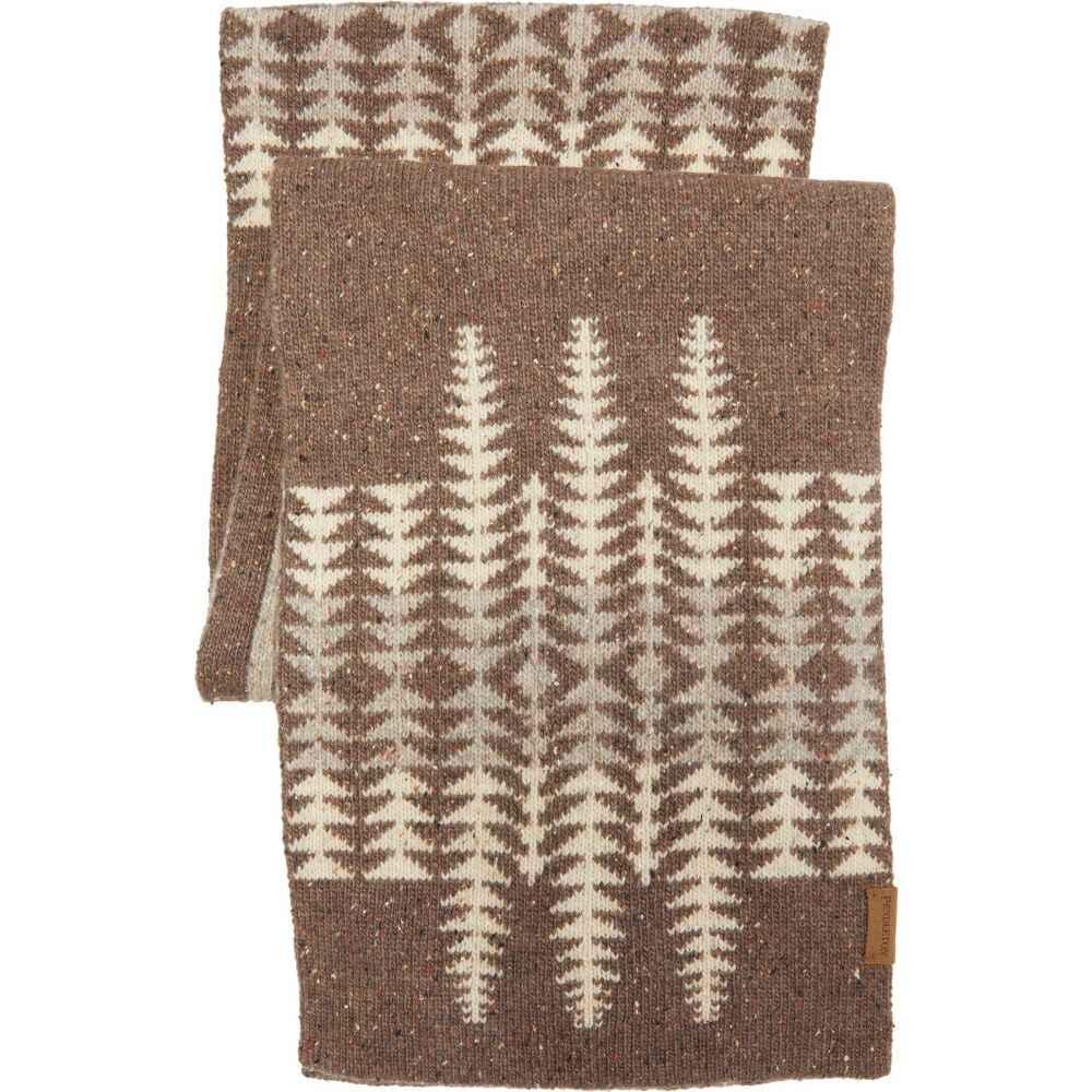 ペンドルトン 別倉庫からの配送 ユニセックス ファッション小物 マフラー スカーフ ストール Harding Pendleton Brown Scarf Wool Lambs サイズ交換無料 超定番