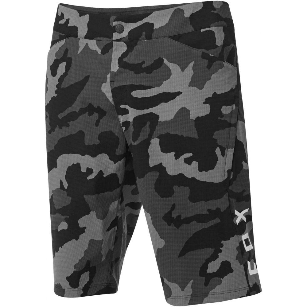 <title>フォックス メンズ 自転車 ボトムス パンツ Black サイズ交換無料 Fox 休み ショートパンツ Ranger Camo Bike Shorts</title>