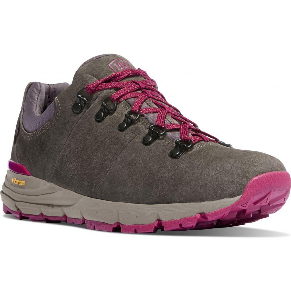 ダナー レディース 捧呈 18%OFF ハイキング 登山 シューズ 靴 Grey Plum サイズ交換無料 Low Danner Boots ブーツ Mountain Hiking 600 3in