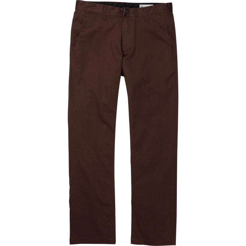 ボトムス・パンツ stretch 【frickin modern pants】Mahogany ボルコム メンズ Volcom