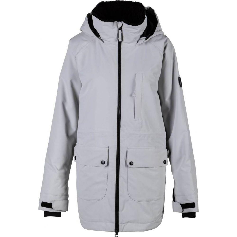 送料無料 シャモニー ジャケット Chamonix レディース スキー・スノーボード Chamonix long ジャケット アウター【chambre long snowboard jacket】Grey, タノグン:b83c1551 --- kventurepartners.sakura.ne.jp