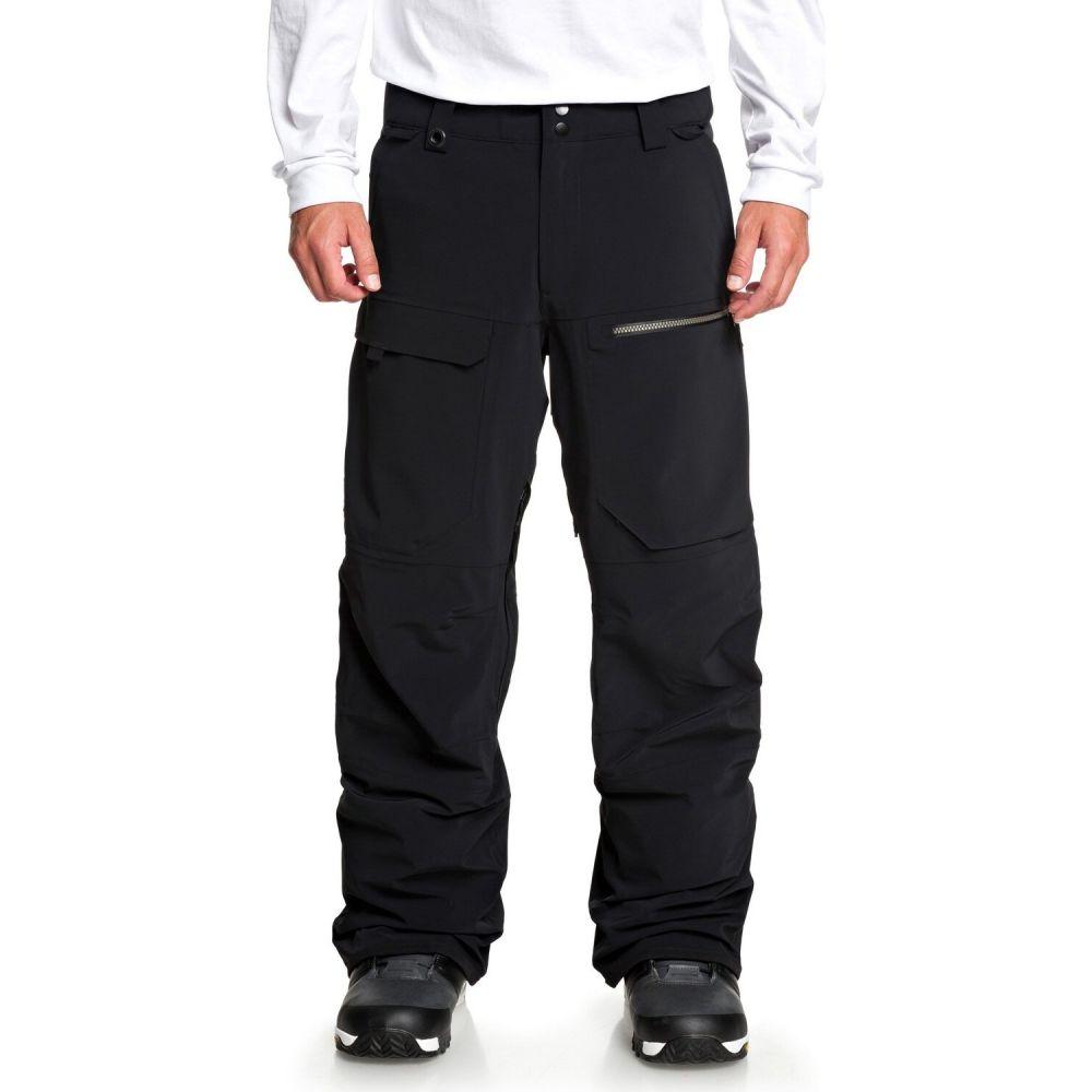 クイックシルバー メンズ スキー スノーボード ボトムス パンツ Black snowboard stretch 全商品オープニング価格 サイズ交換無料 tr pants 即納 Quiksilver