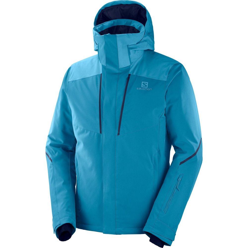期間限定の激安セール サロモン メンズ スキー 超定番 スノーボード アウター Lyons Blue ジャケット jacket Fjord Salomon ski サイズ交換無料 stormseason